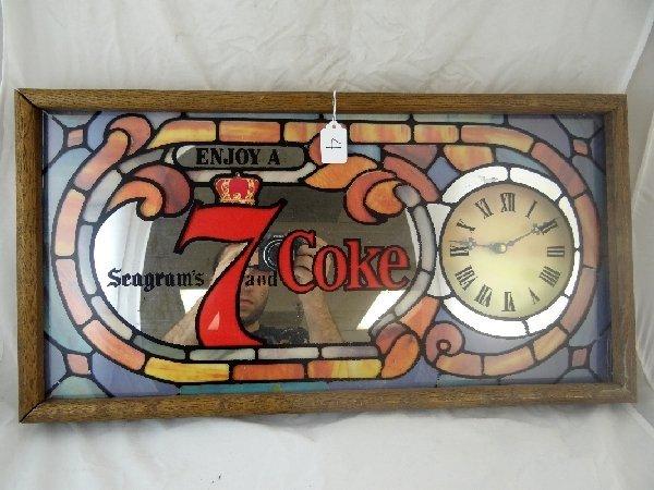 4: 1982 Seagram's & Coke Advertising Clock