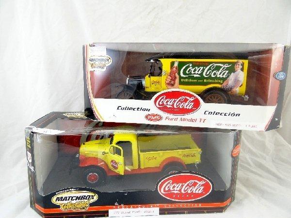 6: (2)Matchbox Collectibles Coca-Cola Cars