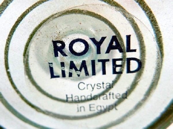 55: (10)Royal Limited Crystal Perfume Bottles - 2