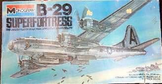 58: 1977 Boeing B-29 Superfortress Model Kit