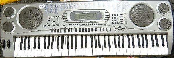 106: Casio WK-1630 Electronic Piano Keyboard