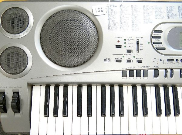 106: Casio WK-1630 Electronic Piano Keyboard - 3