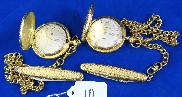10: (2) Waltham Pocket Watches *Working*