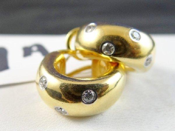 TIFFANY & Co. Etoile 18K & PLATINUM Earrings