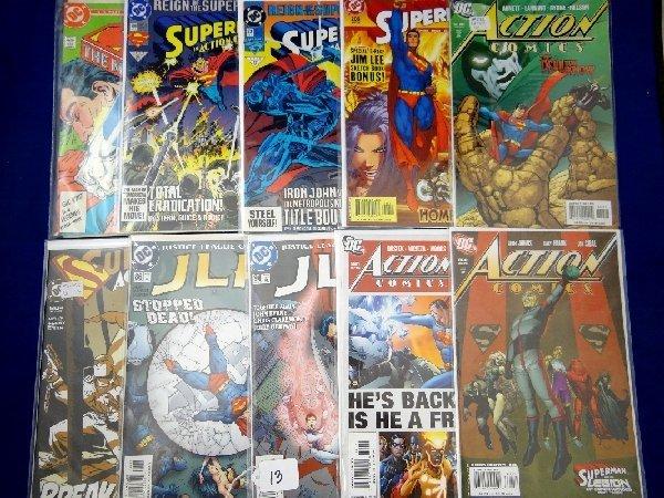 "Lot of (10) DC ""Superman"" Comics"