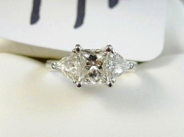 Diamond & Platinum Ring-$10K Appraisal
