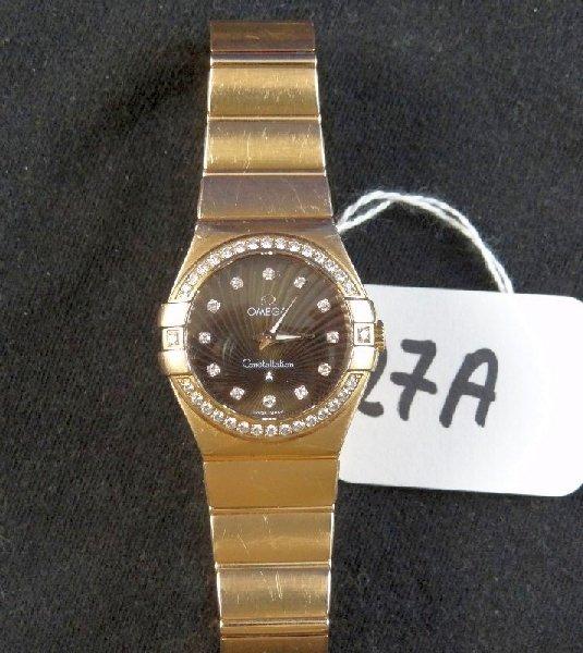 18K Gold Omega Constellation (MSRP $24K)