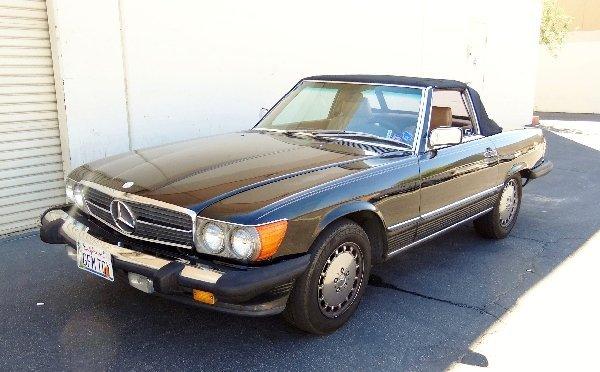 1A: 1987 Mercedes-Benz 560SL