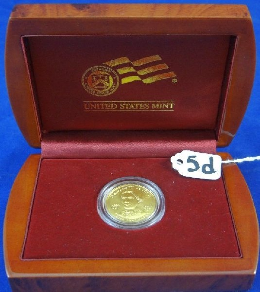 2009-W $10 MARGARET TAYLOR SOLID 24K Coin
