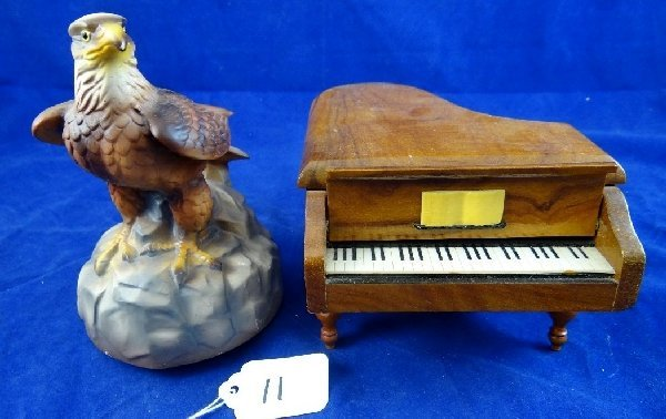 Lot of (2) Music Boxes (Reuge & More)