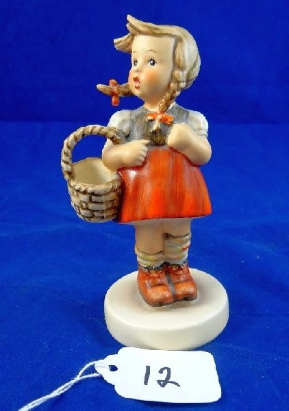 1960-1963 M.I. Hummel Girl With Basket Figurine