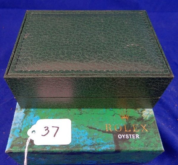 Genuine Rolex Oyster Mans Watch BOX W/Papers