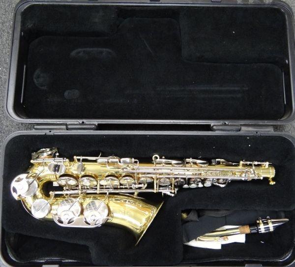 107A: Selmer ALTO AS300 Saxophone W/M.O.P. Keys