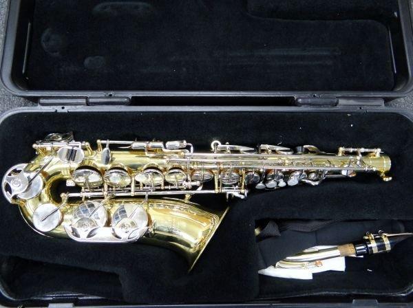 107A: Selmer ALTO AS300 Saxophone W/M.O.P. Keys - 2