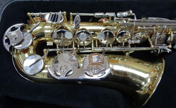 107A: Selmer ALTO AS300 Saxophone W/M.O.P. Keys - 3
