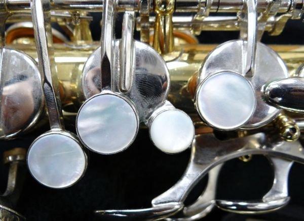 107A: Selmer ALTO AS300 Saxophone W/M.O.P. Keys - 7