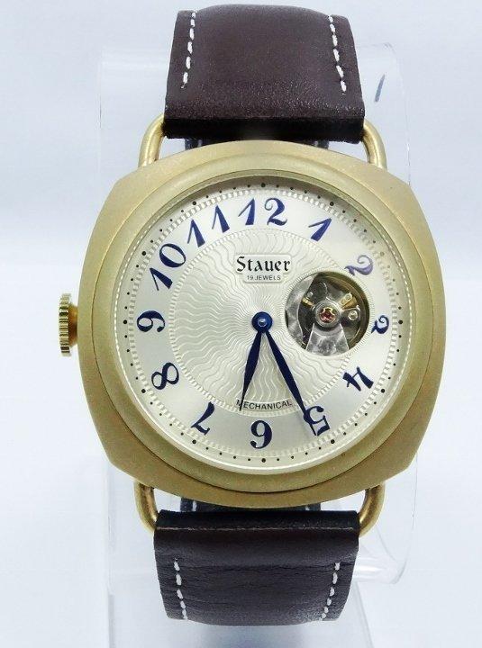 "Men's Stauer ""Reversable"" 19J Mechanical Watch"