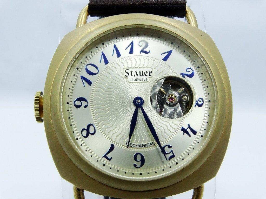"Men's Stauer ""Reversable"" 19J Mechanical Watch - 2"