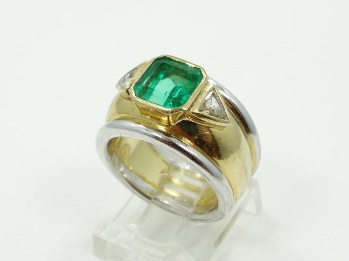 4.25CT Genuine Near-Flawless Columbian Emerald