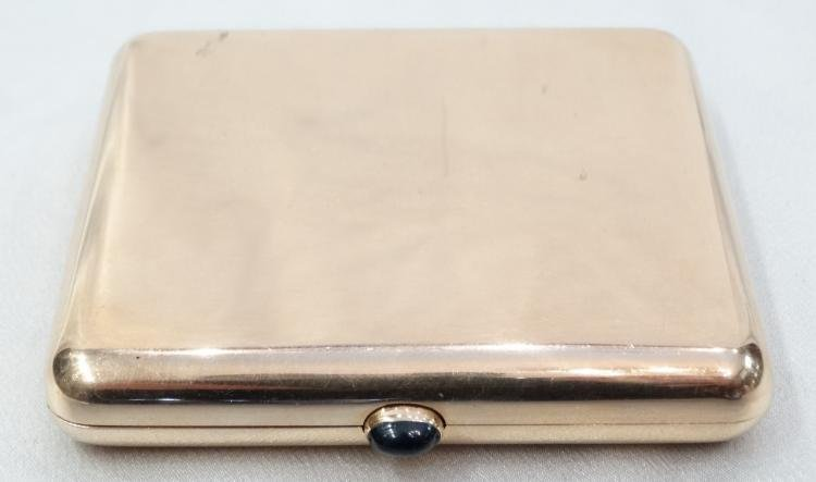 """Imperial Russian (Moscow) Solid """"56"""" Gold Cigarette"""