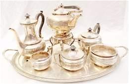 1800's Tiffany & Co. Sterling Silver Tea Service Set