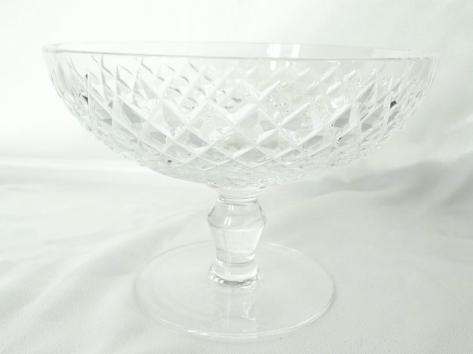 Vintage Waterford Crystal Footed Candy Dish