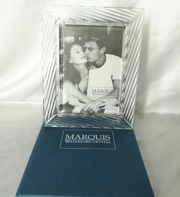 Waterford Crystal Picture Frame in Original Box