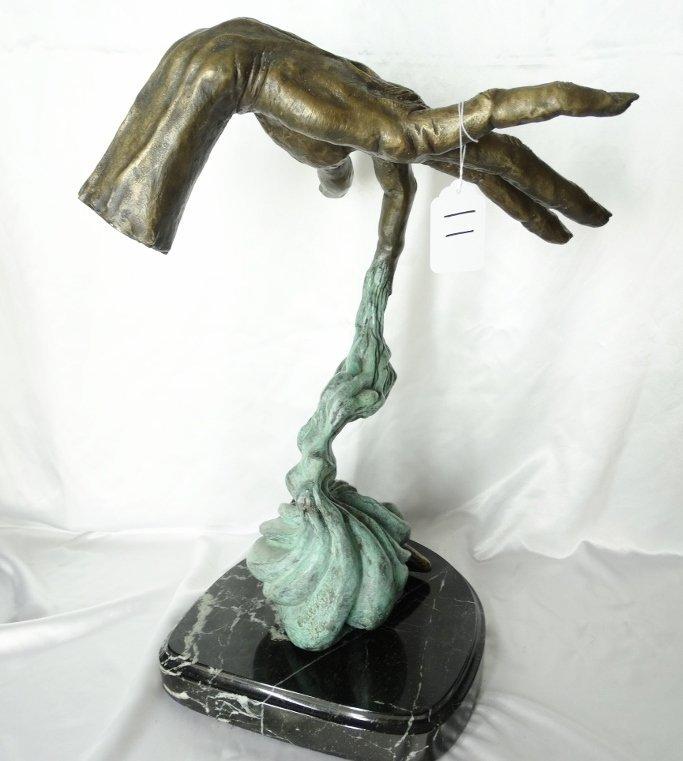"Charles Sherman ""Hand of Creation"" Ltd Ed Bronze"