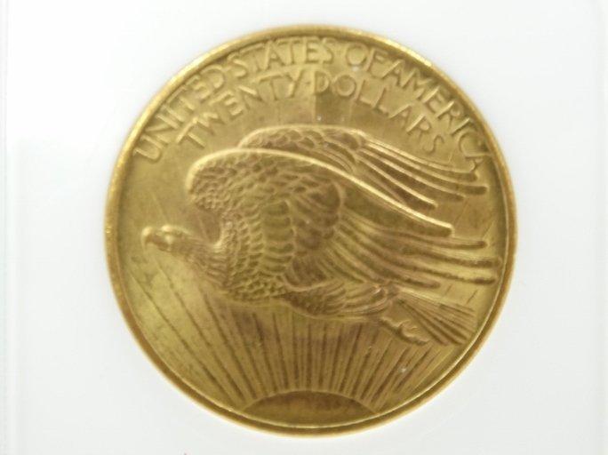 1908-P Saint Gaudens Double Eagle MS64 No Motto - 4