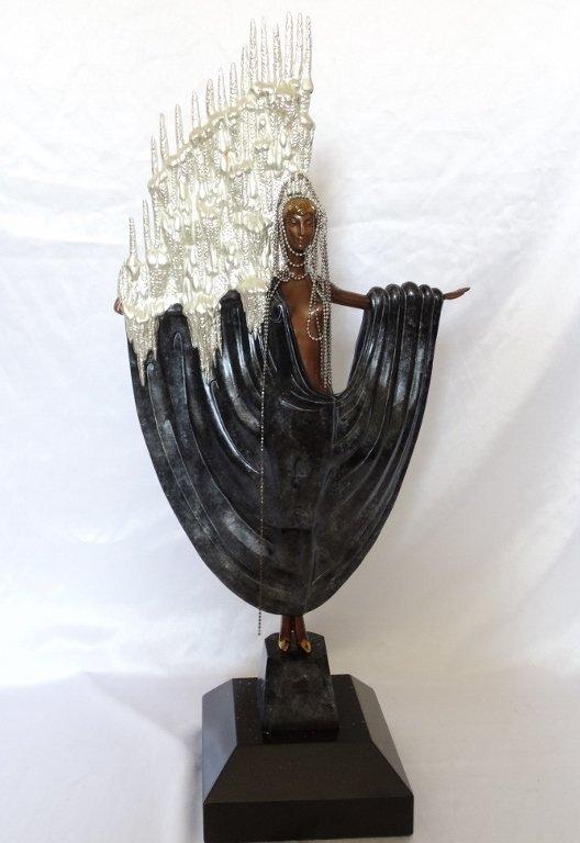 "Erte 1985 ""Arctic Sea"" Ltd. Ed. Signed Sculpture"