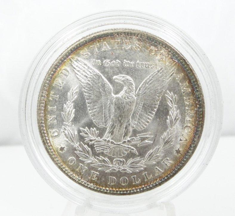 1887-P Morgan Dollar W/Obverse & Reverse Toning - 2