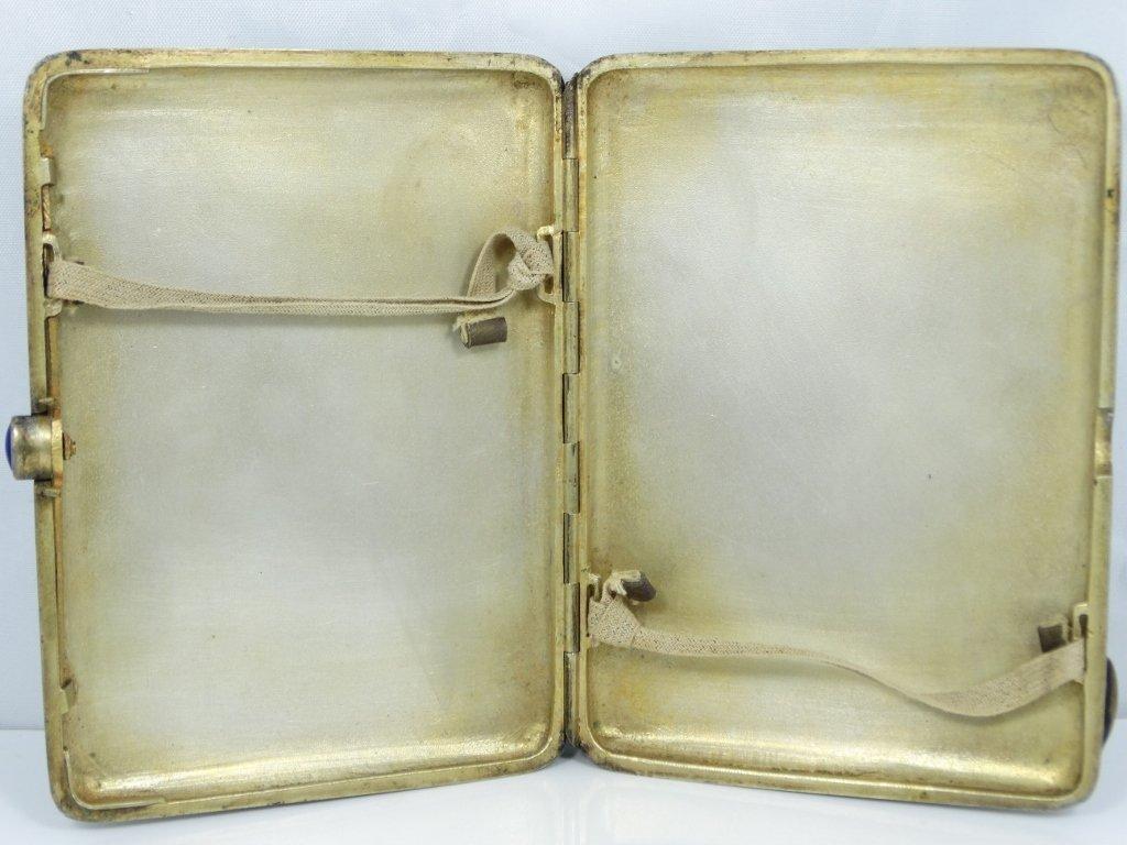 Imperial Russian Silver & Enamel Cigarette Case - 4