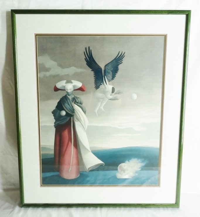 "Michael Parkes ""Mars"" Framed Art Print"