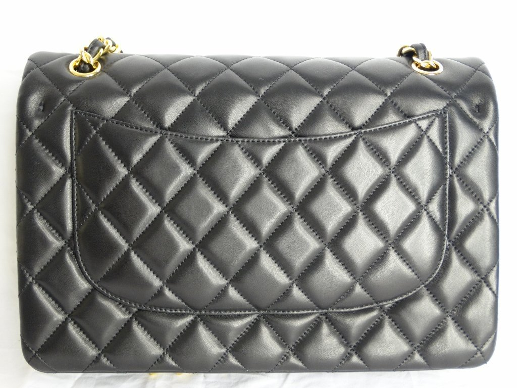 Chanel Jumbo Lambskin Tuffted Evening Bag - 5