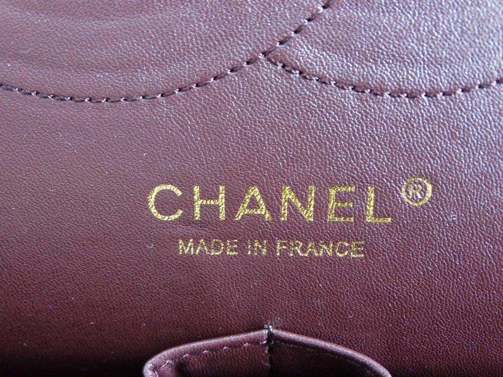 Chanel Jumbo Lambskin Tuffted Evening Bag - 8