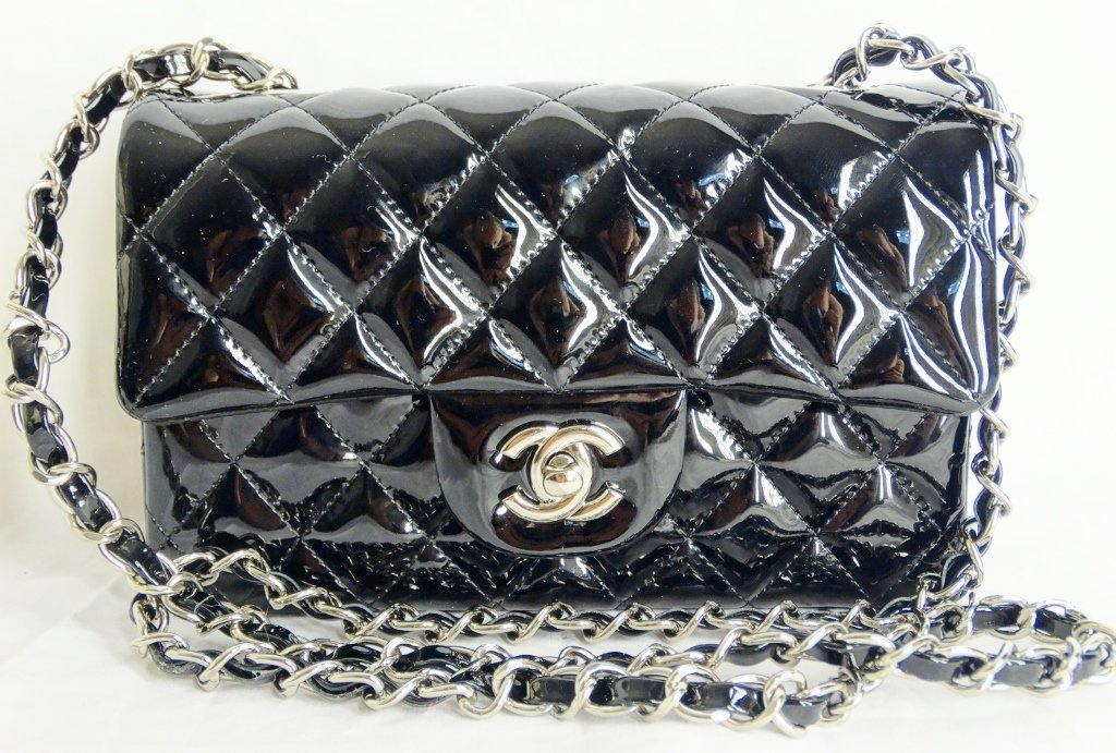 Chanel Black Patent Leather Runway Bag SOLD OUT