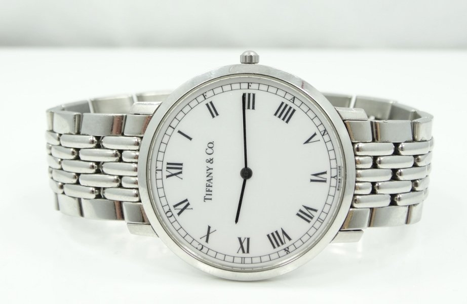 Tiffany & Co. 38mm Stainless Steel Watch