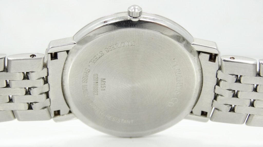 Tiffany & Co. 38mm Stainless Steel Watch - 5