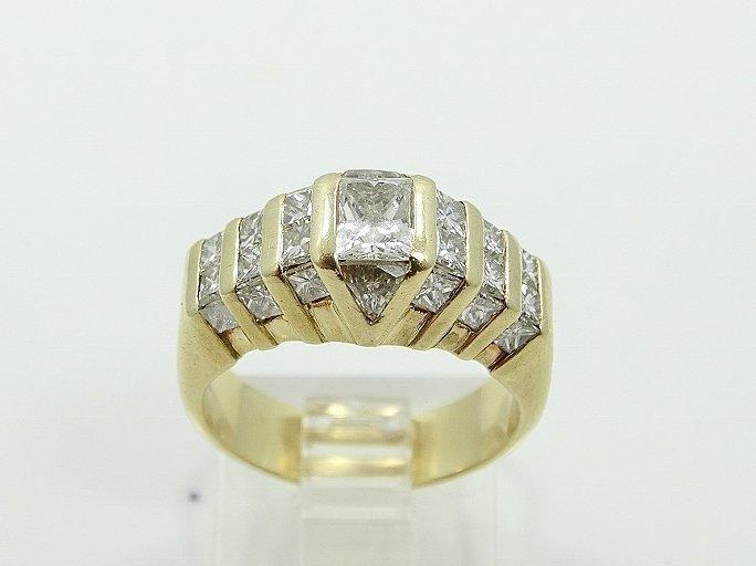 2.50ctw VS1-VS2/G-H Diamond 14K Ring - 2
