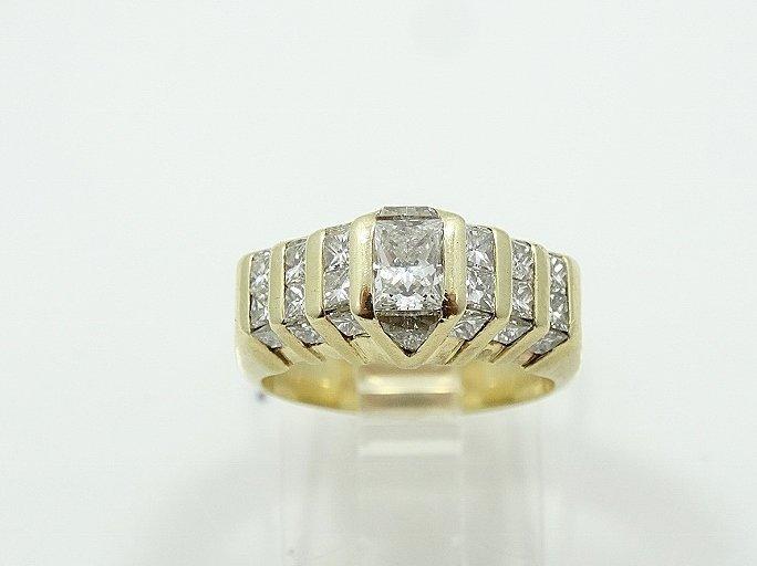 2.50ctw VS1-VS2/G-H Diamond 14K Ring - 3