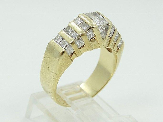 2.50ctw VS1-VS2/G-H Diamond 14K Ring - 4
