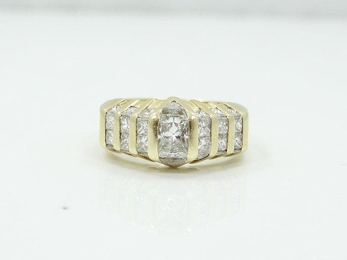 2.50ctw VS1-VS2/G-H Diamond 14K Ring - 5
