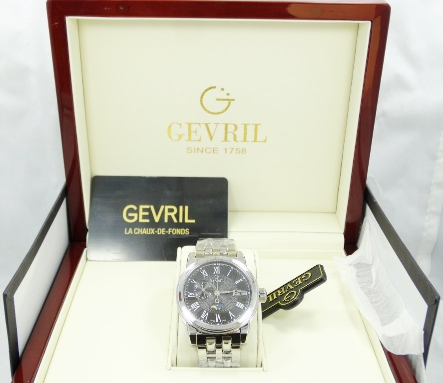 Gevril 2527 Courtland Gentleman's Watch New