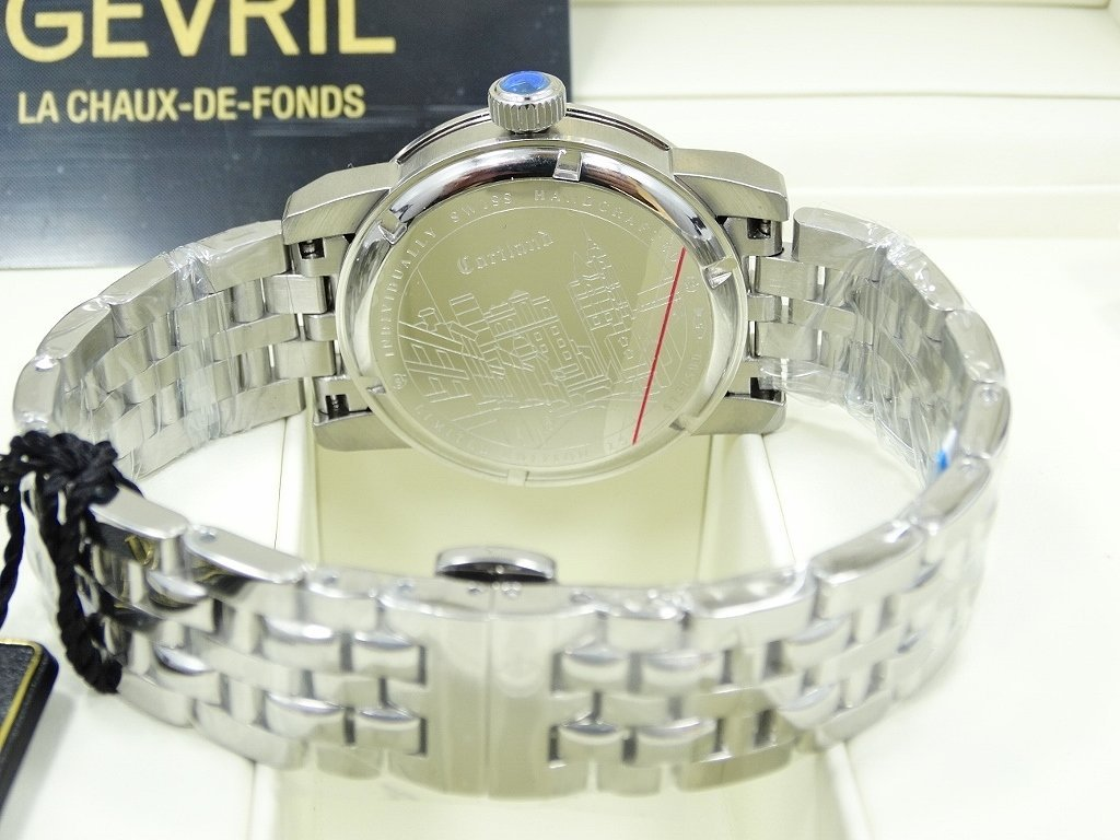 Gevril 2527 Courtland Gentleman's Watch New - 3