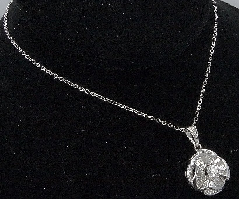 "1.75ctw VS/F-H Diamond Pendant & 18K 16"" Necklace - 5"