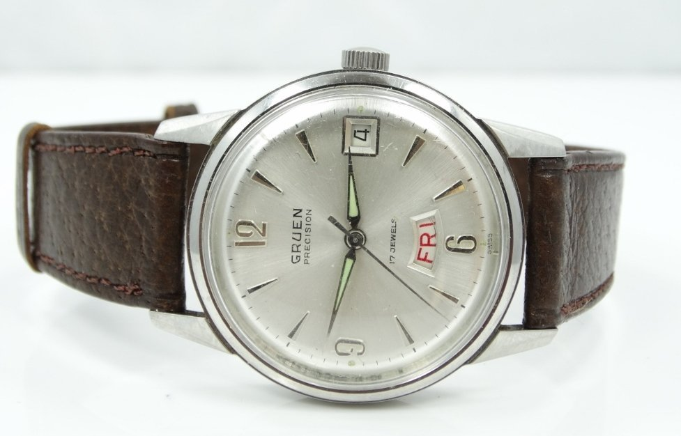 Vintage Gruen 17J Men's 38mm Dress Watch