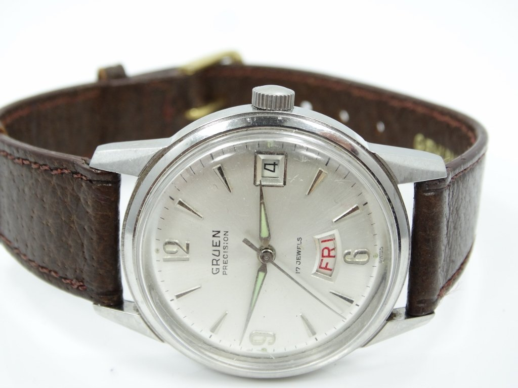 Vintage Gruen 17J Men's 38mm Dress Watch - 2
