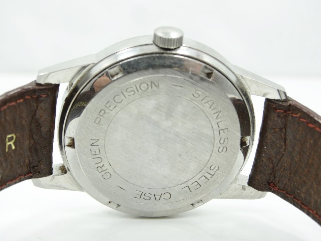 Vintage Gruen 17J Men's 38mm Dress Watch - 4