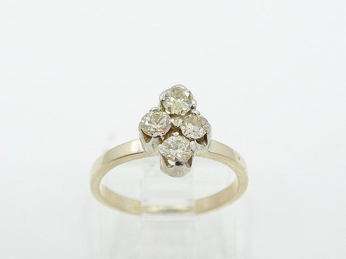 .80ctw SI1/H-J Diamond & 14K Child's Ring - 2
