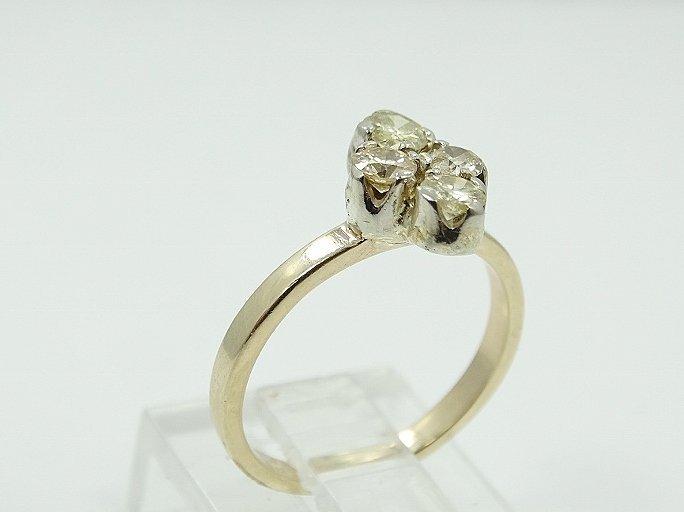 .80ctw SI1/H-J Diamond & 14K Child's Ring - 3